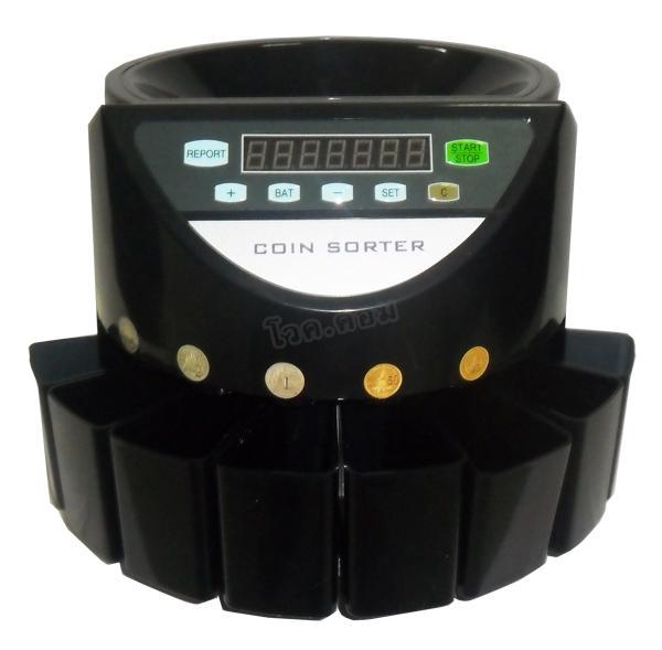 เครื่องนับเหรียญ Comcube รุ่น CT1-Black