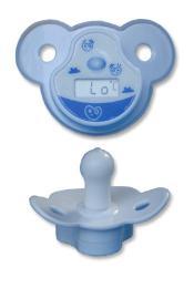 เครื่องวัดอุณหภูมิร่างกาย ชนิดจุกนมสำหรับเด็ก