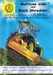 เครื่องตัดหญ้าไหล่ทาง Multiuse TA