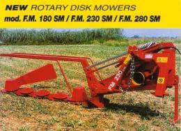 เครื่องตัดหญ้าจานหมุน Disk Mower รุ่น FM180 SM