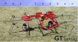 เครื่องคราดหญ้าแบบสบัดผึ่ง Tedder รุ่น GT250