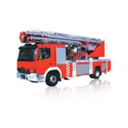 รถยนต์ดับเพลิงกู้ภัยในที่สูงแบบกระเช้าบันได