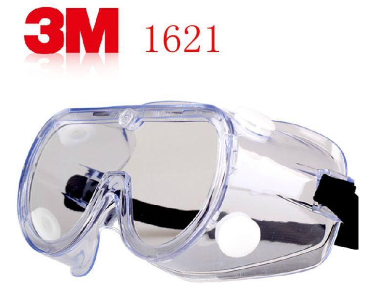 แว่นตาป้องกันสารเคมีและไอระเหย 3M1621