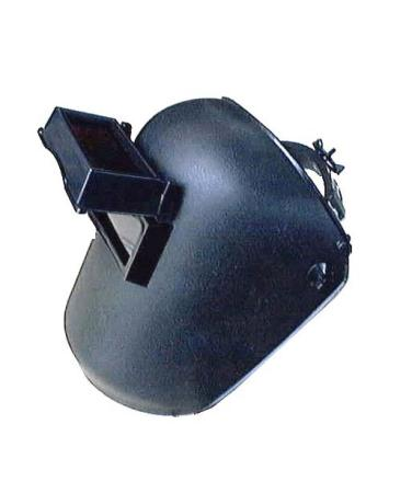 หน้ากากเชื่อมสวมหัวสีดำ