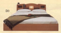 เตียงไม้ปารติเกิ้ล 5 ฟุต