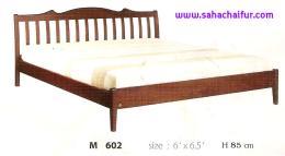 เตียงไม้ยางพาราแท้ ไมอามี่ 6 ฟุต