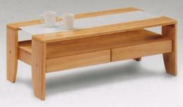 โต๊ะกลางชุดรับแขก สีธรรมชาติ