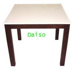 โต๊ะอาหารหน้าขาว