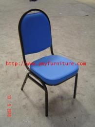 เก้าอี้จัดเลี้ยงหนังหนา หัวโค้ง