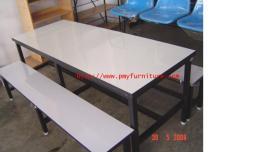 โต๊ะอาหาร หน้าโฟเมก้าขาว