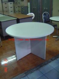 โต๊ะประชุมไม้วงกลม