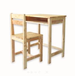 โต๊ะนักเรียนไม้ยางพารา