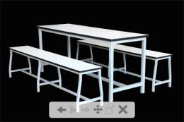 โต๊ะโรงอาหาร 4