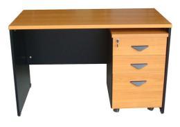 โต๊ะทำงาน+ตู้เอกสาร