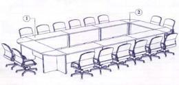 โต๊ะประชุม 16-22 ที่นั่ง