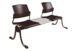 เก้าอี้แถวพักคอย 2 ที่นั่ง + โต๊ะ