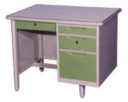 โต๊ะสำนักงานเหล็ก 3 ฟุต