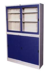 ตู้บานเลื่อนทึบ-กระจก 3 ฟุต
