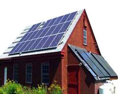 ไฟฟ้าพลังงานแสงอาทิตย์สำหรับบ้านพักอาศัย
