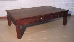 โต๊ะกาแฟ หรือ โต๊ะกลาง ไม้สัก