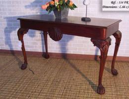 โต๊ะคอนโซลไม้สักแท้  สไตย์โมเดิร์น