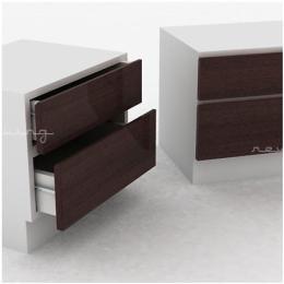 โต๊ะหัวเตียง วัสดุ MDF NT-WN01