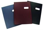 แฟ้มเสนอเซ็นปก PVC Devince F4 น้ำตาล (561-4100)
