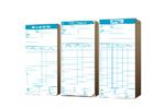 บัตรลงเวลา นิบโป้/เวอร์เทค 100แผ่น/แพ็ค (815-0160)