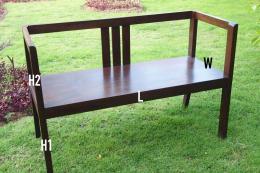เก้าอี้สนามไม้สัก หรือเก้าอี้นั่งเล่นไม้สัก