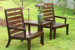 เก้าอี้สนามไม้สัก เก้าอี้รับแขกไม้สัก