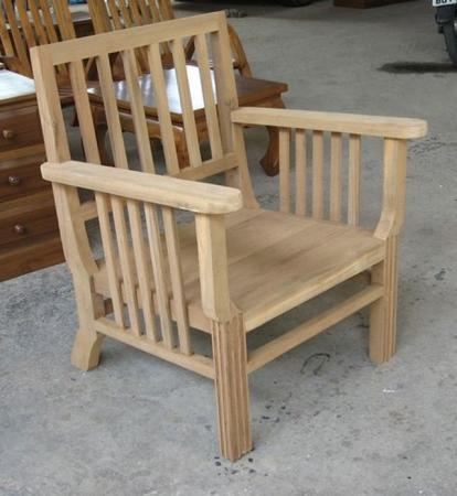 เก้าอี้สนามไม้สัก