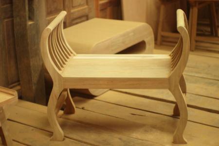เก้าอี้น้ำชาไม้สัก
