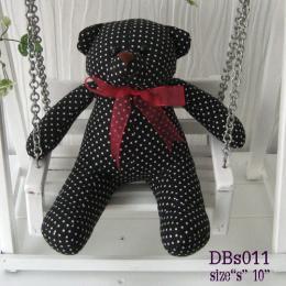 ตุ๊กตาหมี ผ้าคอตตอน dbs011