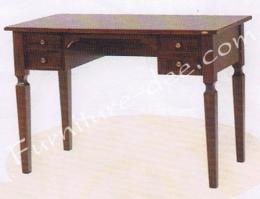 โต๊ะทำงาน EU/2 (4 ลิ้นชัก) ไม้ยางพารา
