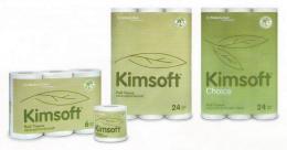 กระดาษทิชชูม้วน Kimsoft Choice