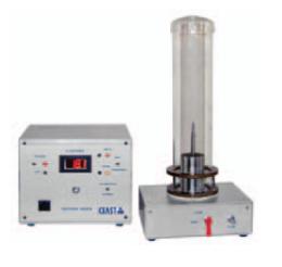 เครื่องทดสอบหาค่าปริมาณก๊าซอ๊อกซิเจนเมื่อติดไฟของพลาสติก