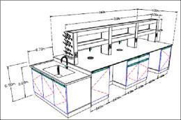 การออกแบบเฟอร์นิเจอร์ห้องปฏิบัติการ