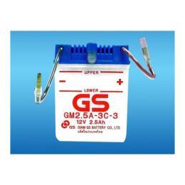 แบตเตอรรี่มอเตอร์ไซค์ GM2.5A-3C-3