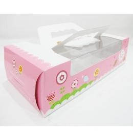 กล่องเค้กหูหิ้วกระจก 064-011066