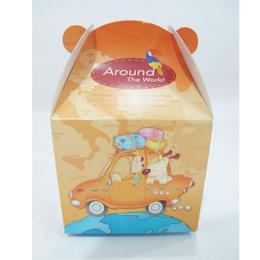 กล่องคุกกี้เล็กลายรถยนต์  064-024102