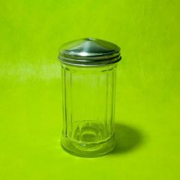 ขวดแก้วทรงกระบอกฝาสแตนแลส