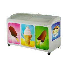 ตู้แช่ไอศกรีมฝาโค้ง SNC-0403