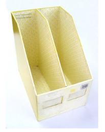 กล่องวารสารกระดาษแข็ง 2ช่อง 8.25X12X12นิ้ว