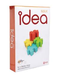 กระดาษถ่ายเอกสาร 70g A4 500 แผ่น idea MAX