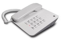 โทรศัพท์ตั้งโต๊ะสีขาว EX30043GE1