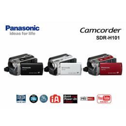 กล้องถ่ายวีดีโอ PANASONIC Model SDR-H101GA-K
