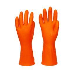 ถุงมือยางส้ม RG52-OR