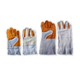 ถุงมือหนังท้อง  LG111