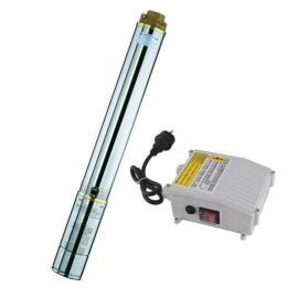 ปั้มน้ำไฟฟ้า 100 HQJD1.5/20