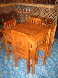 โต๊ะชุดแมงมุม